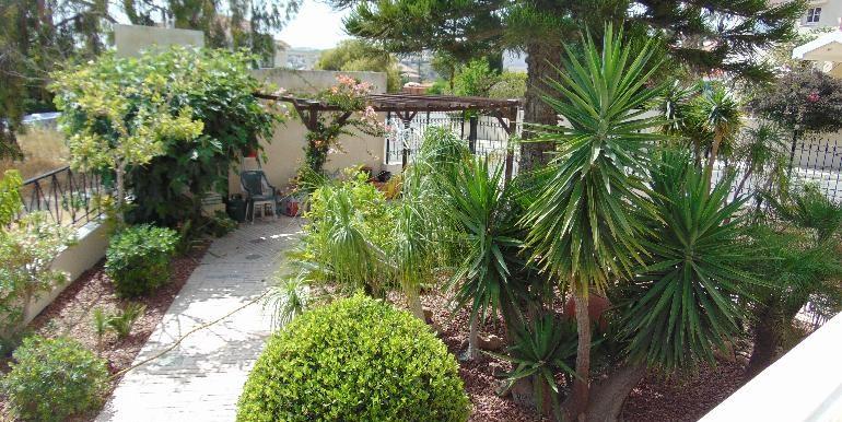 villa - lower garden
