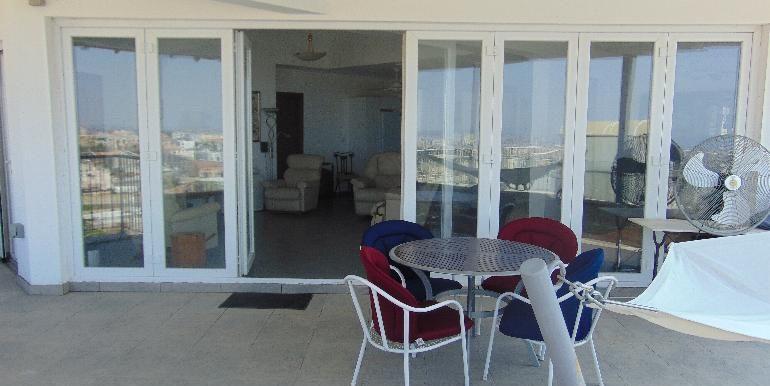 House - upper balcony