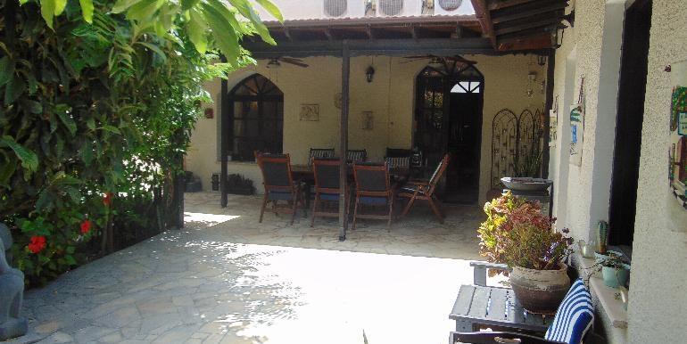 old town - courtyard pergola