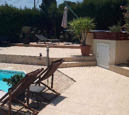 House bbq pool